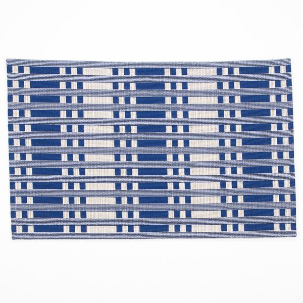 JOHANNA GULLICHSEN Puzzle Mat 5 Tithonus Blue