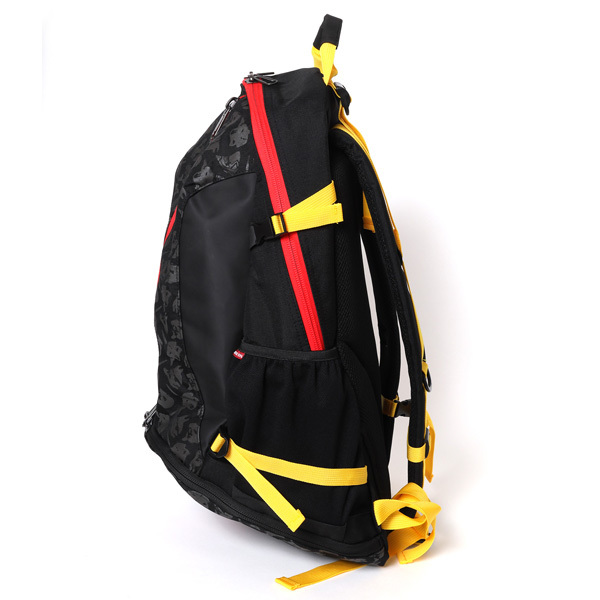RADIO EVA 721 EVA-01 Cager Backpack by SPALDING Black x Red  / EVANGELION エヴァンゲリオン