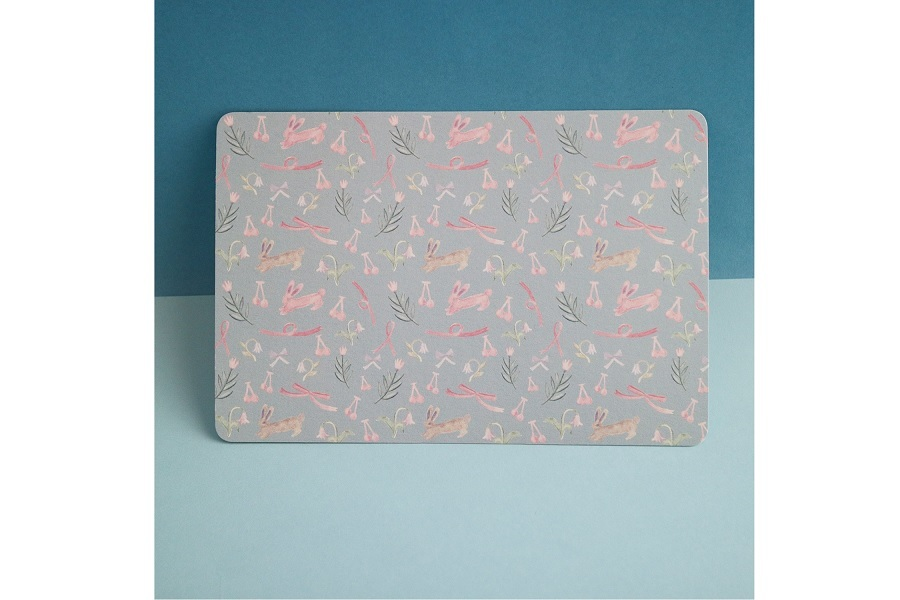 ポストカード(うさぎとサクランボ)