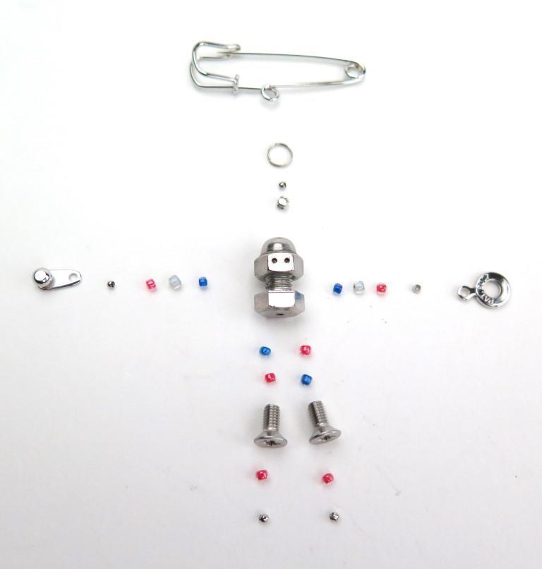 estro robot KIT blue  組立キット ブルー