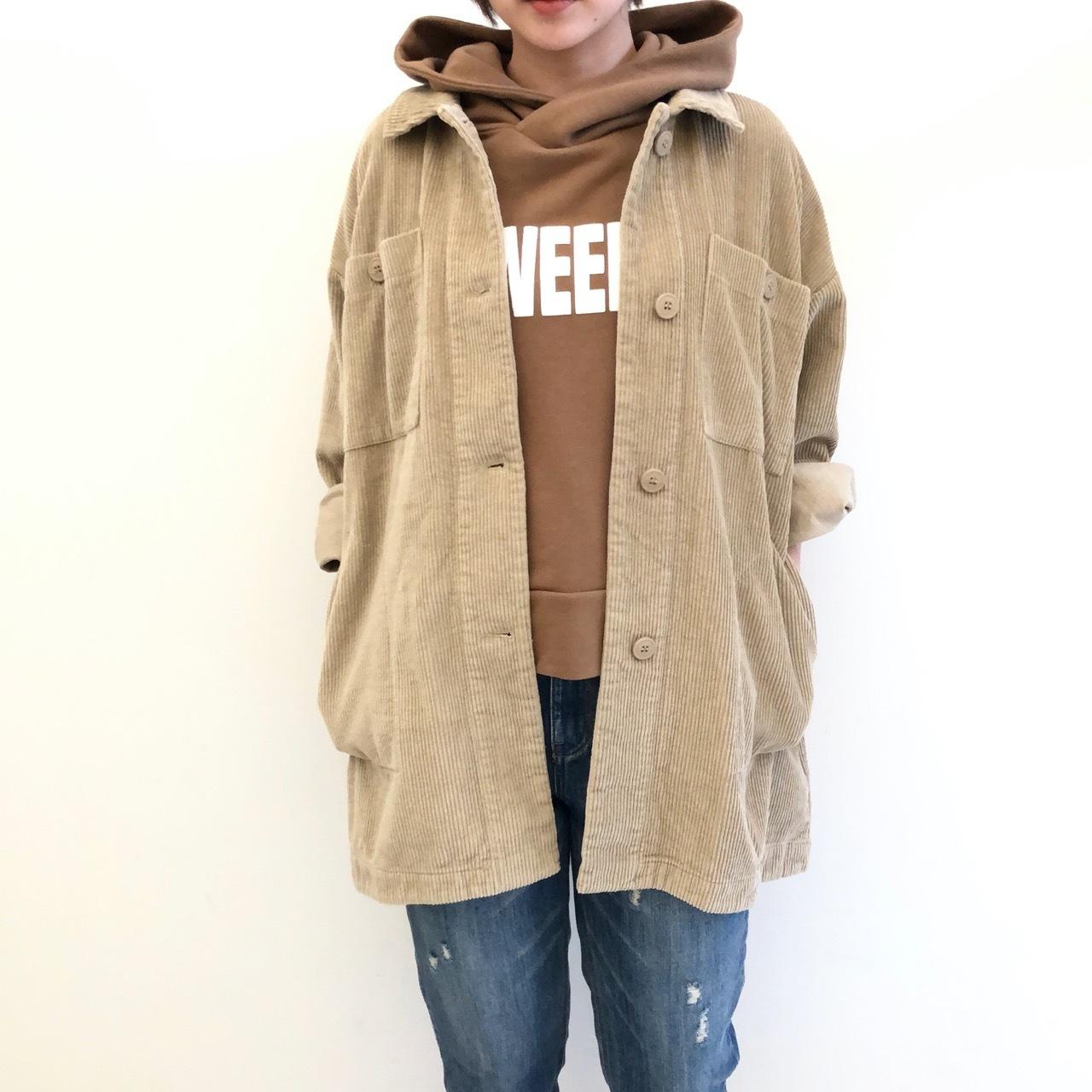 【 Days 】- 199-2028 - コーデュロイシャツジャケット