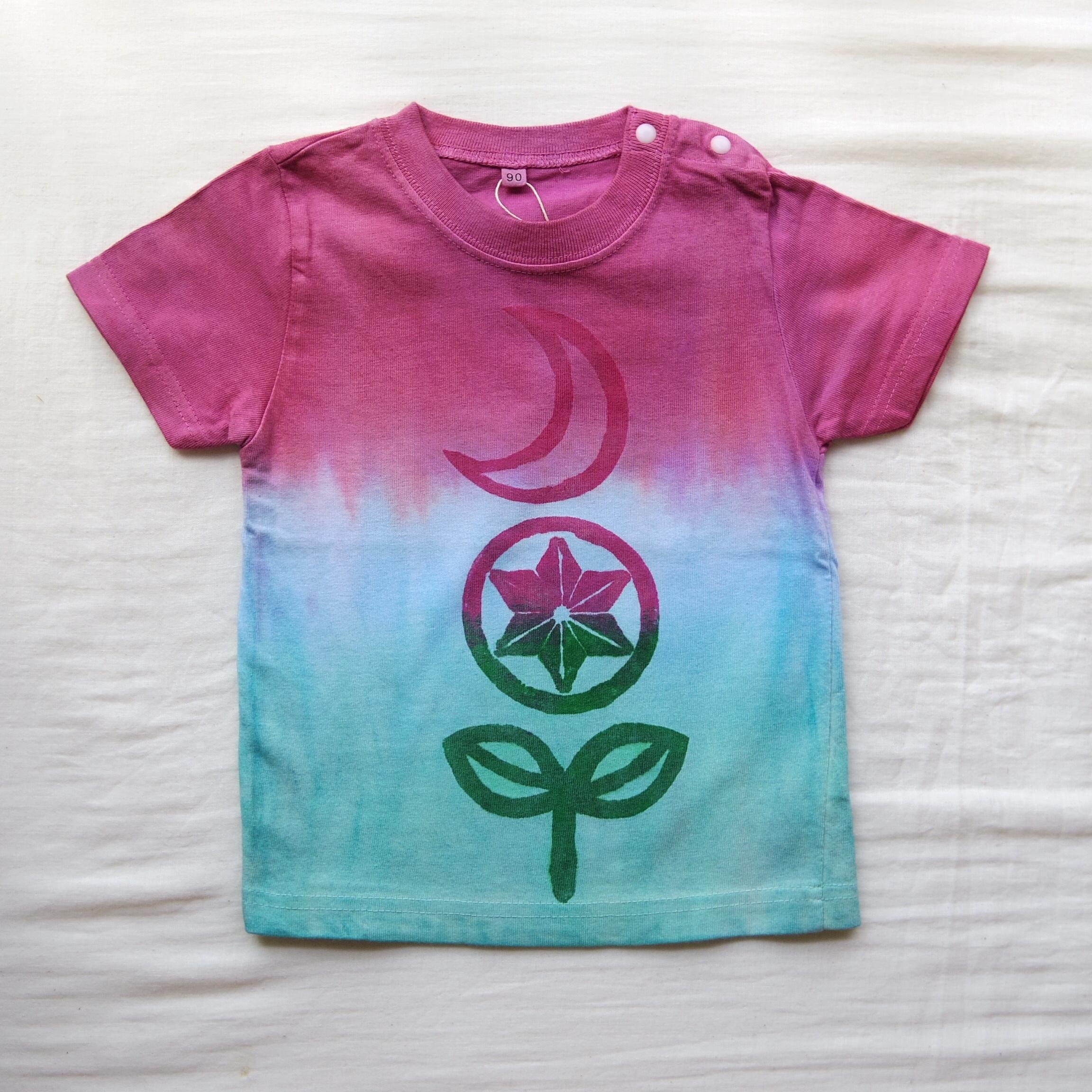 TKHOME 『JOY』 グラデーション キッズTシャツ 90cm