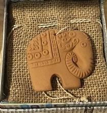 素焼きアロマストーン・象