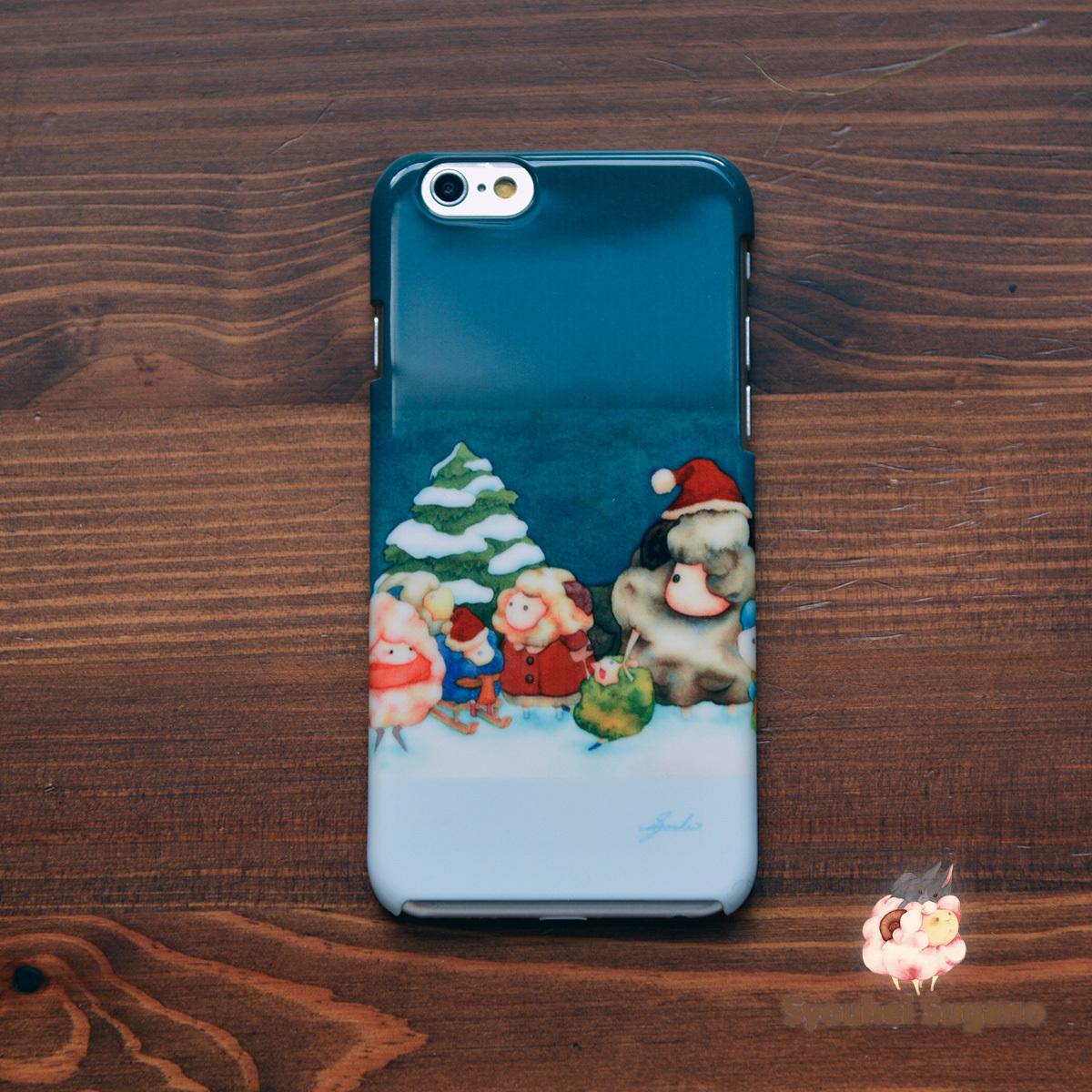 iphone6s ケース クリスマス iphone6 ケース クリスマス iphone6s ケース 羊 iphone6 ケース 羊 まだかなまだかな/Syouhei Sugano