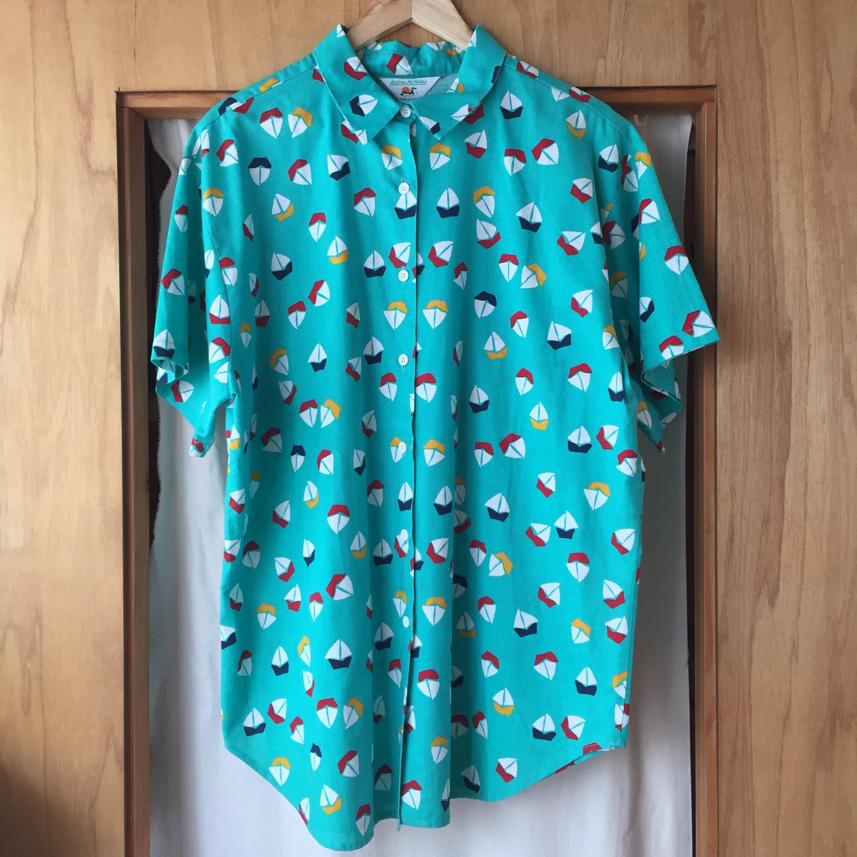 【Used】Vintage Andrew Mc Mullan Yacht Shirt