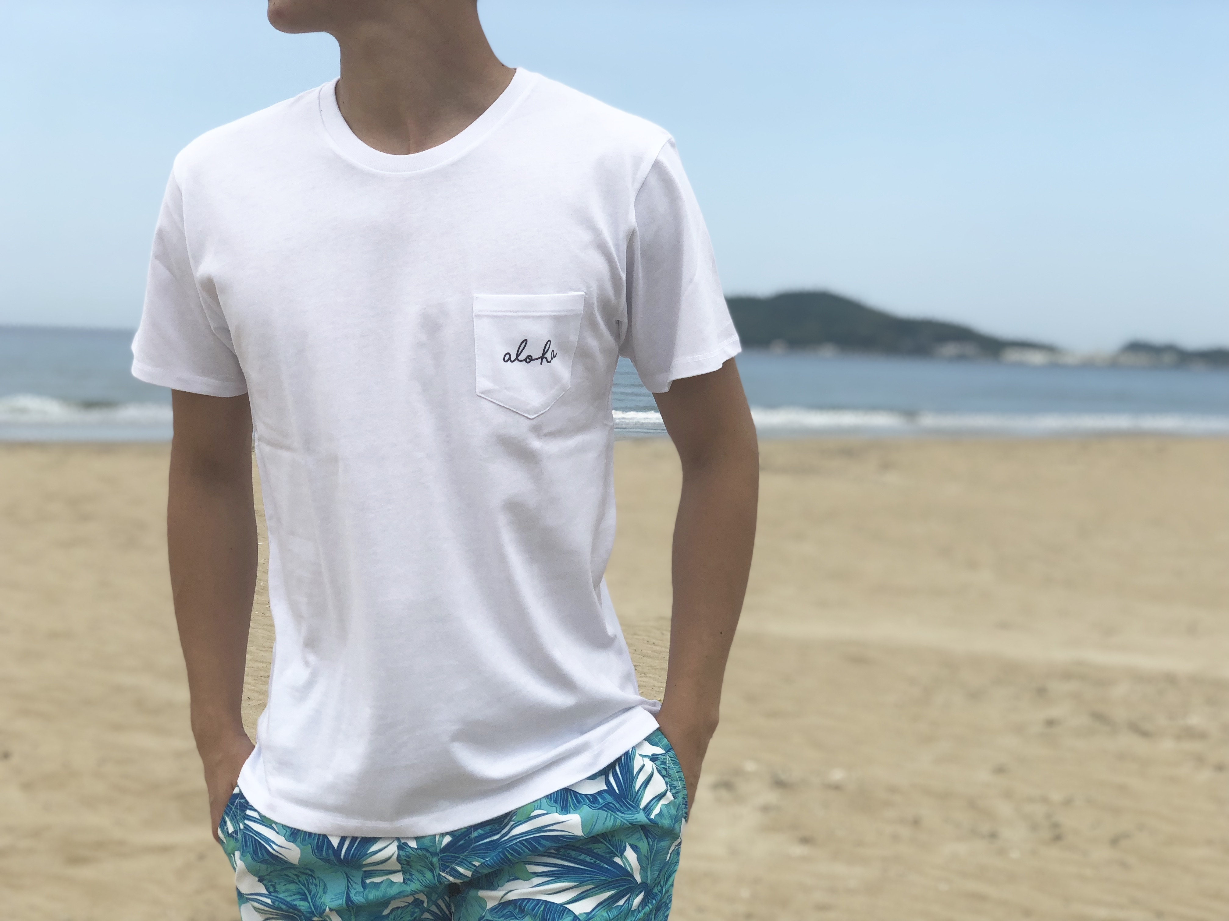 aloha wave Tシャツ(white)