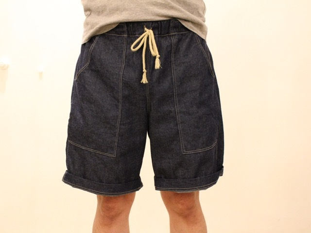 【受注生産】8oz KOJIMADENIM HALF PANTS