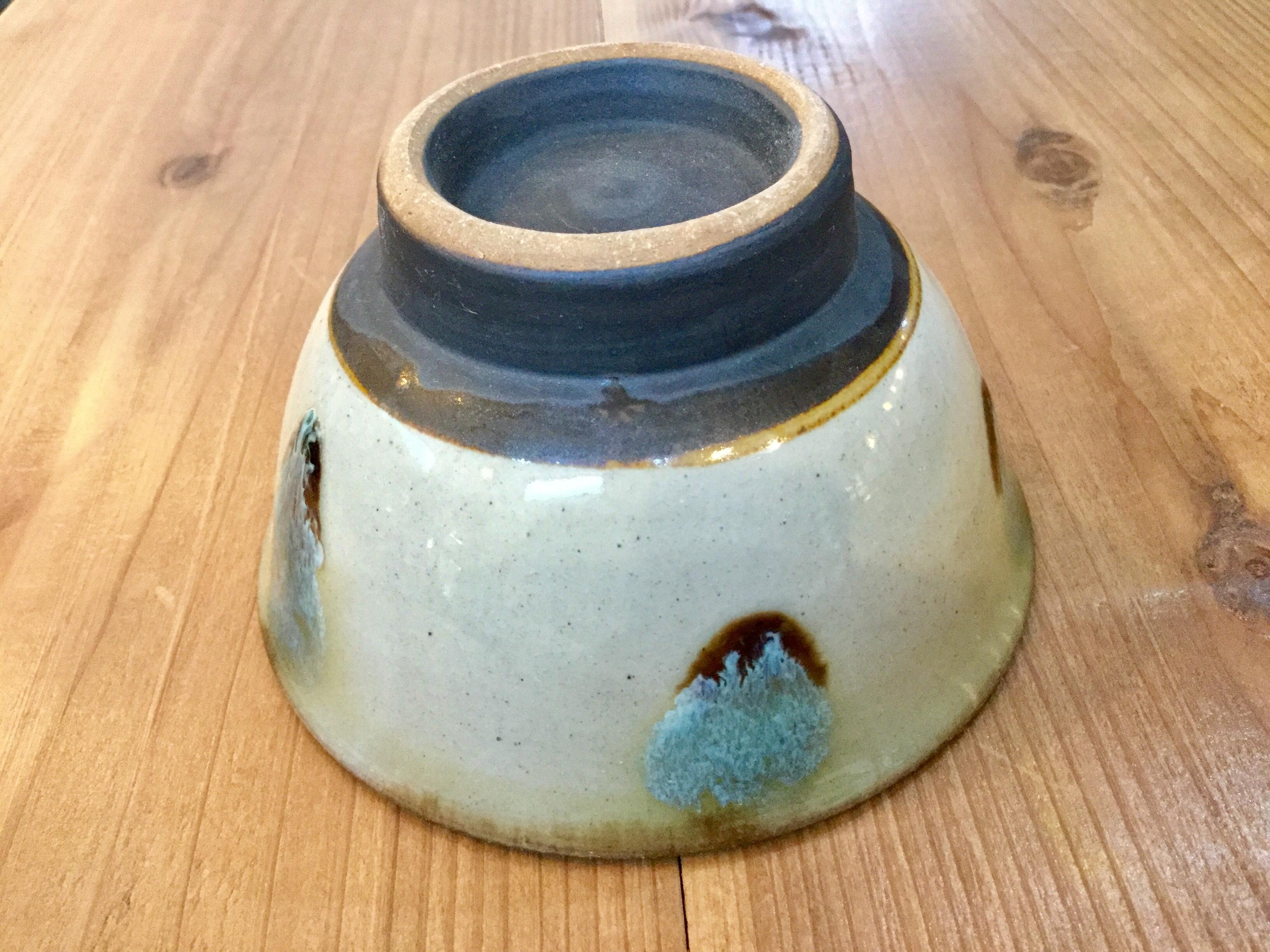 マカイ4寸 緑 ノモ陶器製作所
