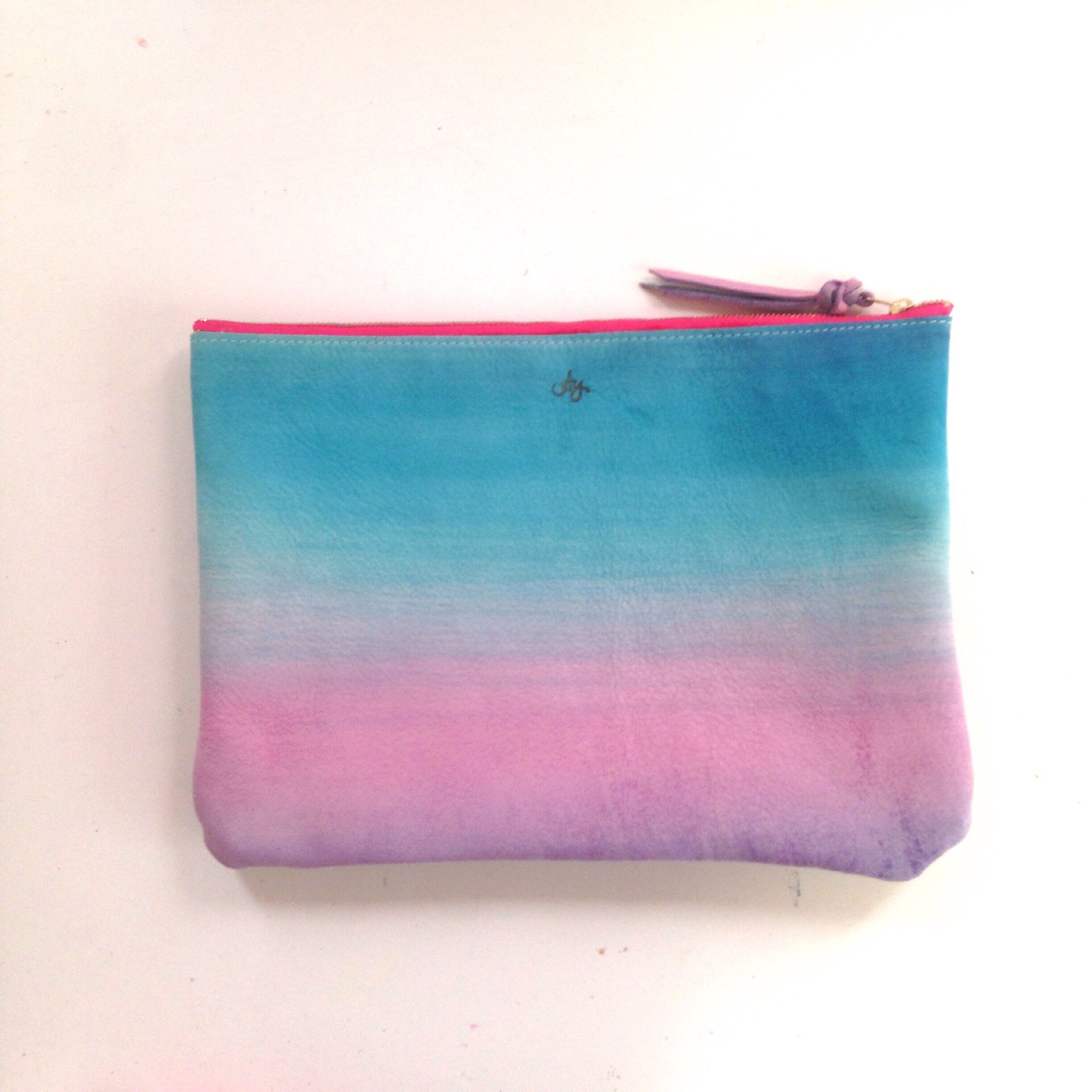 clutch bag -kauai is×bluegray