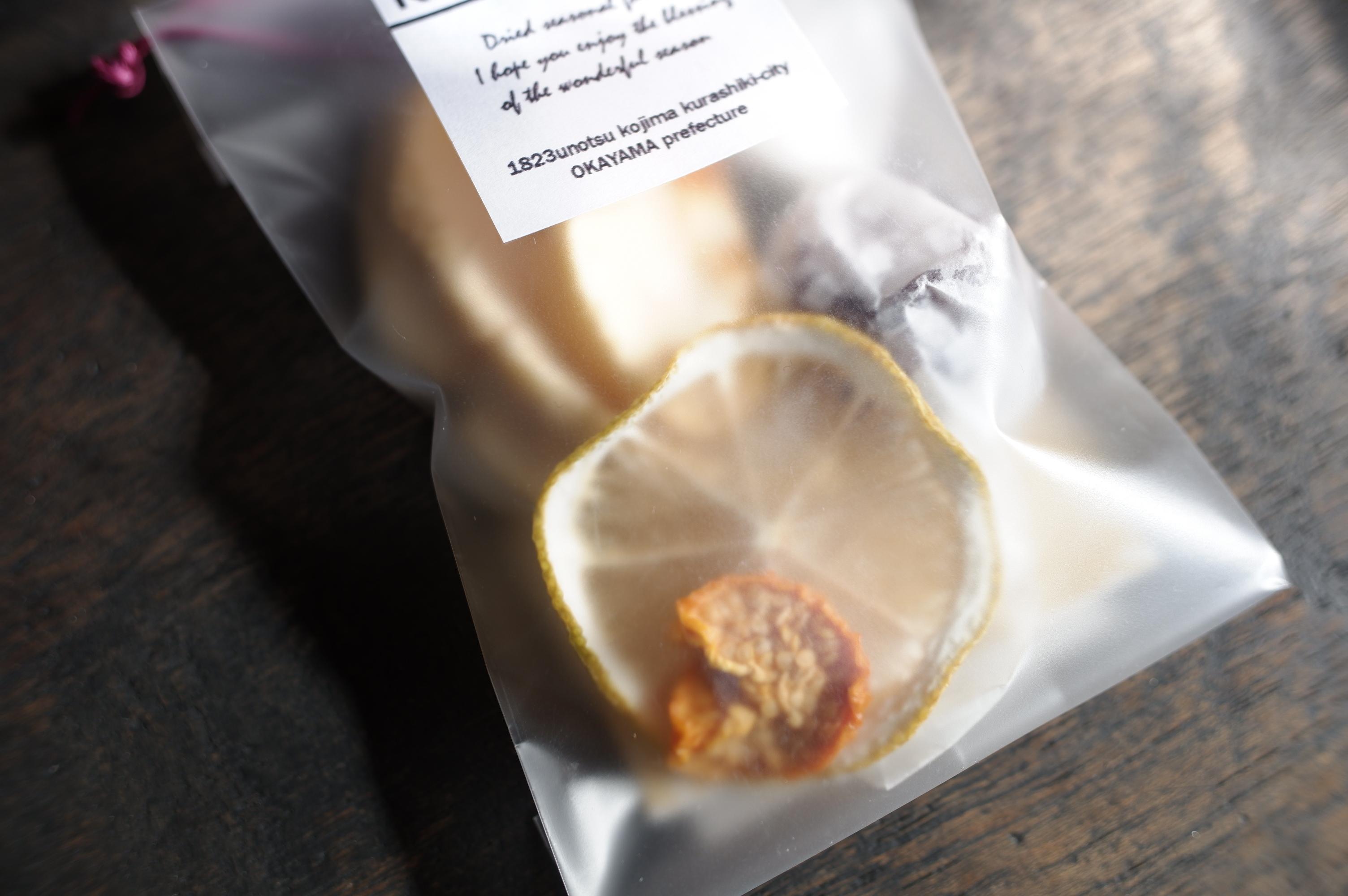 木の雫 こだわりのドライフルーツ 小 〈 ぶどう・りんご・レモン・ほおずき〉