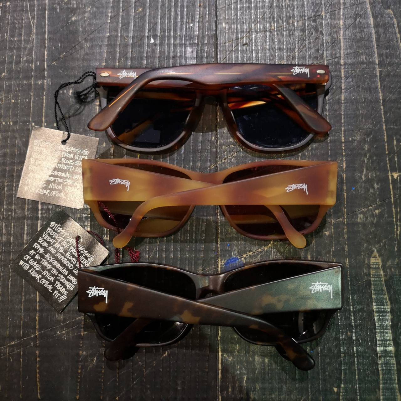 OLD STUSSY SUNGLASS / DEAD STOCK