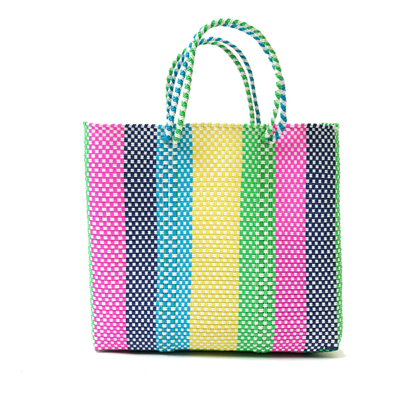 MERCADO BAG LINES-Rainbow (M)