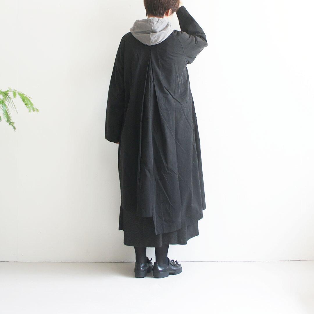 kiino. キイノ ノーカラートレンチアシメコート 【返品交換不可】 (品番k-011)