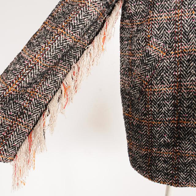 hs19AW-IR09 HERRINGBONE COAT (brown)