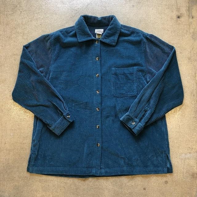 LLbean Corduroy Shirt #08