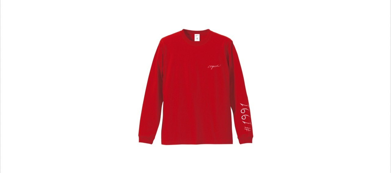 1991 long T-shirts (RED)