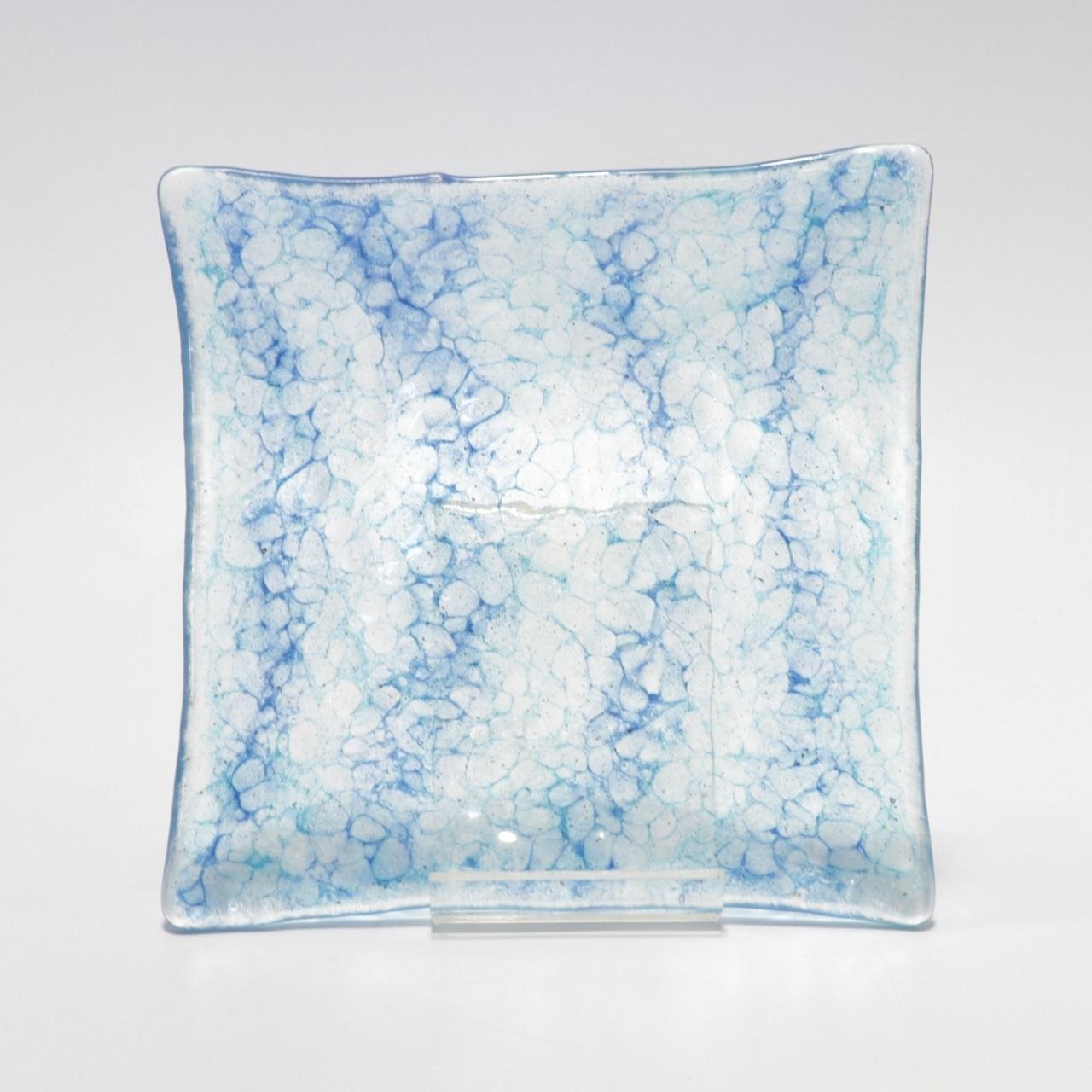 ガラス皿 正方形 オキエッグ