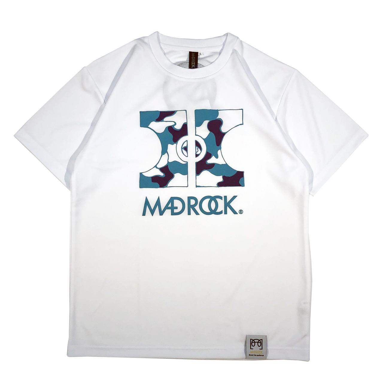 マッドロック -COAT & BALL-Tシャツ/ドライタイプ/ホワイト/MADROCK-COAT & BALL-TEE