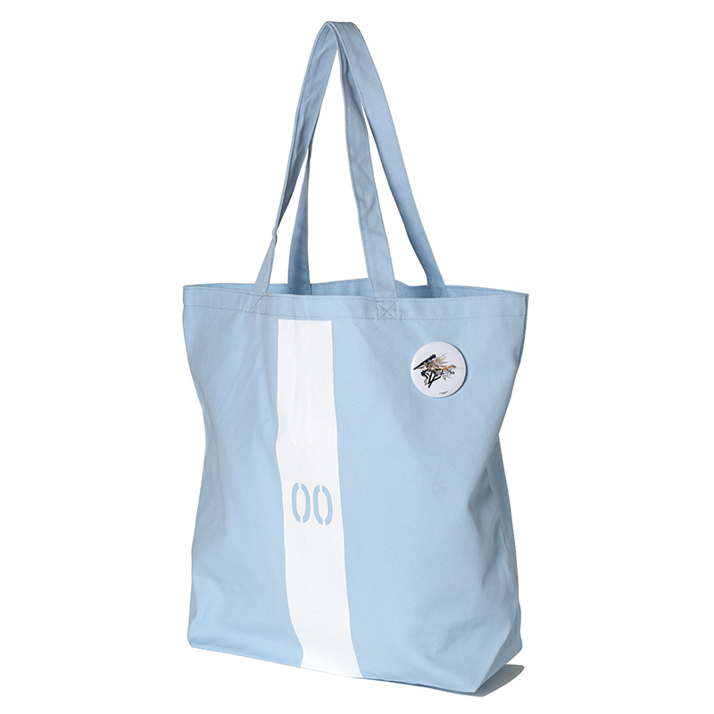 EVANGELION Numbering Tote Bag (ライトブルー(レイ)) / RADIO EVA