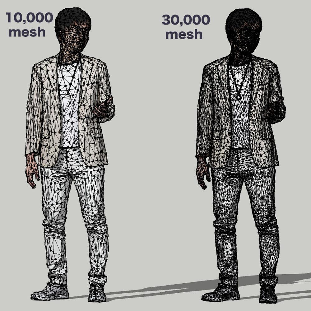 SketchUp素材 3D人物モデル ( Posed ) 107_Sota - 画像3