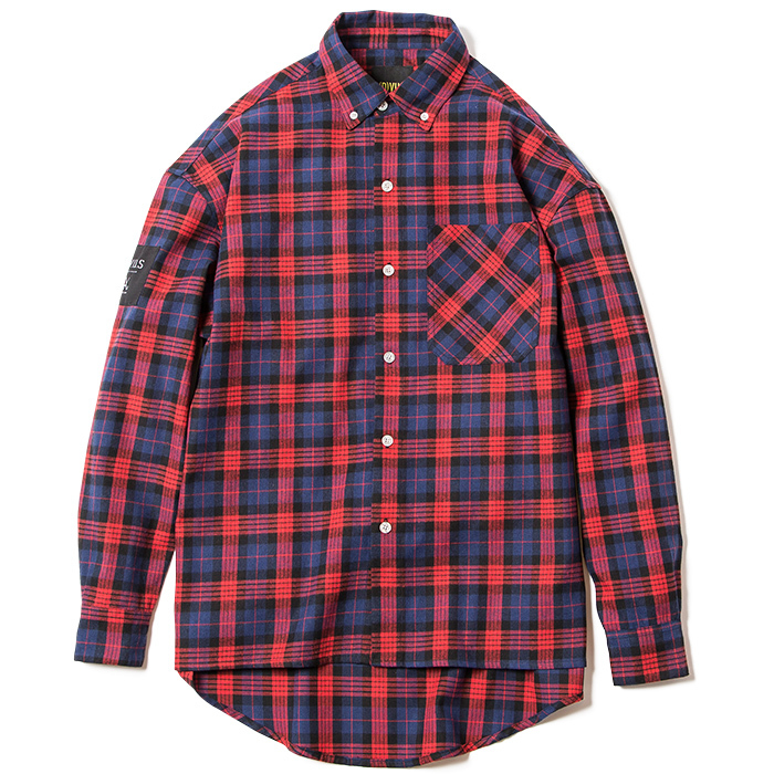 Deviluse(デビルユース) | Check Shirts(Red)