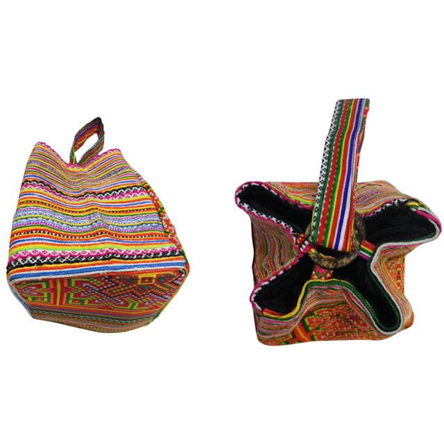 タイモン族刺繍手提げバック