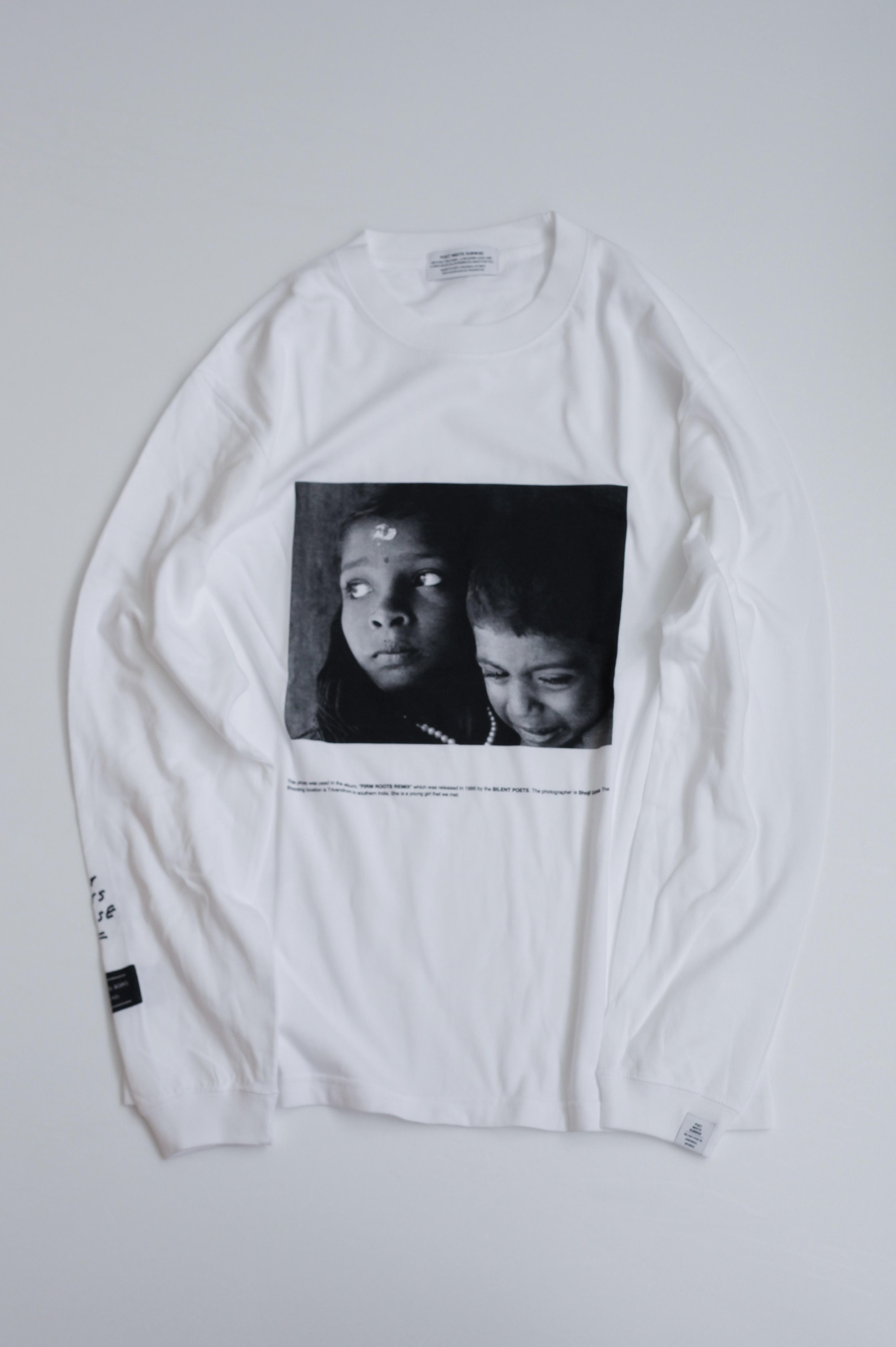 【POET MEETS DUBWISE(ポエトミーツダブワイズ)】 G&B Photo Long Sleeve T-Shirt