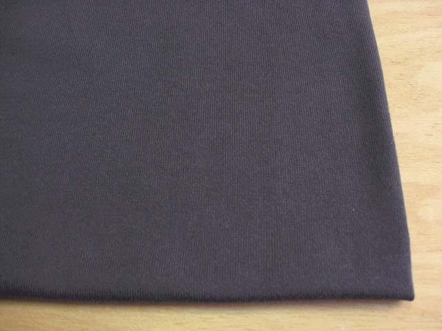 J&B定番 綿30双糸スーパー度詰天竺 ダークチャコールグレー #99 NTM-1539