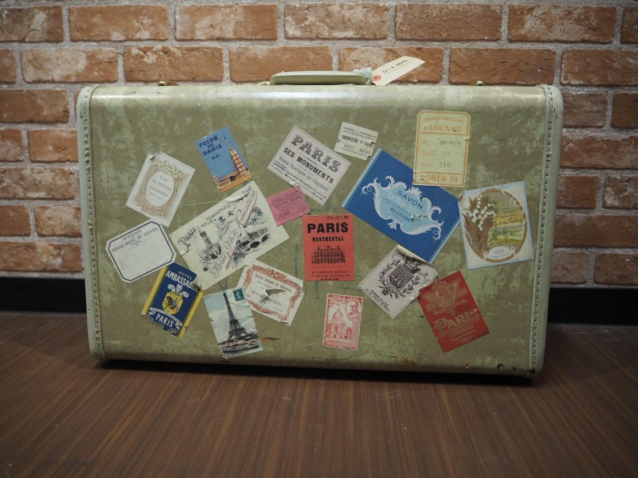 品番4957 スーツケース / Suitcase