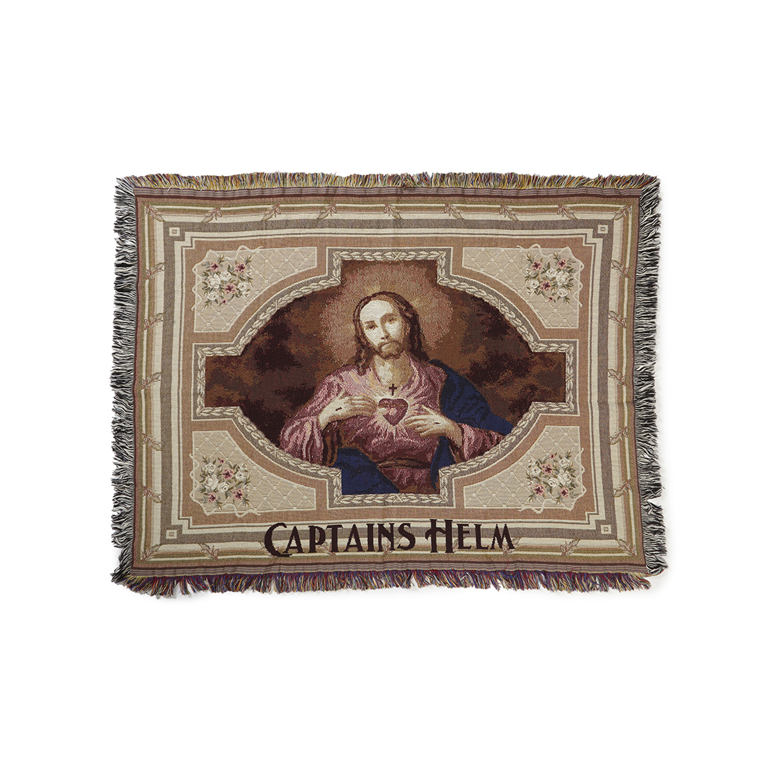 WEAVETEC × CAPTAINS HELM #Jesus Blanket
