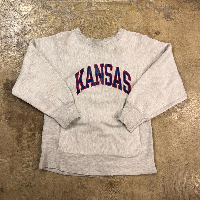 80's Champion R/W Kansas Sweat ¥8,900+tax