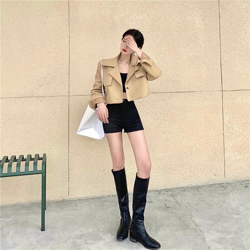 ショートウールライダーズジャケット【short wool riders jacket】