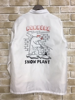 SNOW PLANT SOUVENIR COACH JACKET 1周年記念商品
