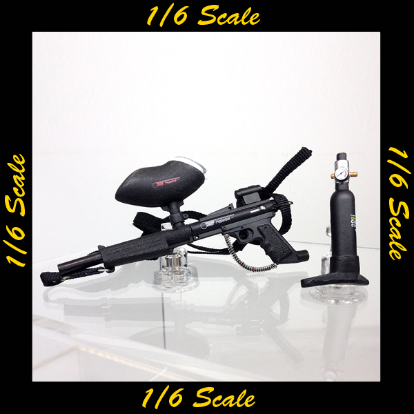 【01983】 1/6 ZC World US Riot Police ペイントボールガン