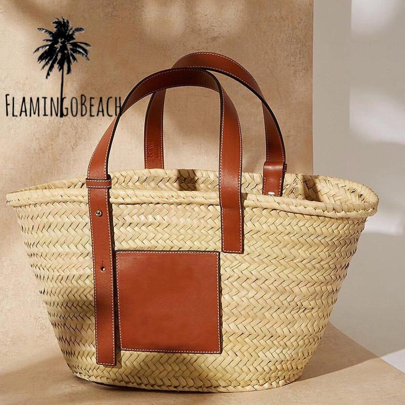 【FlamingoBeach】designers summer bag big カゴバック 大