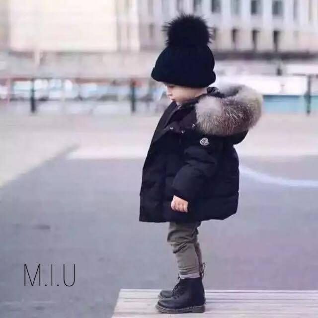 モコモコフーディウインターコート #MIU643