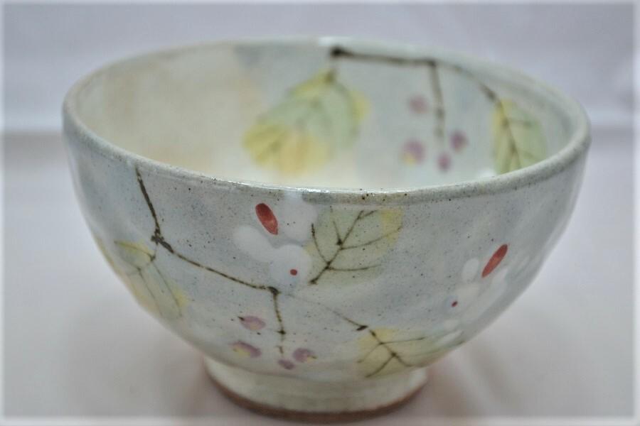花うさぎ 茶碗
