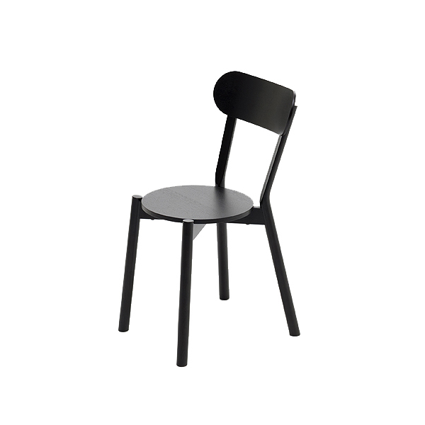 Karimoku New Standard Castor Chair ブラック