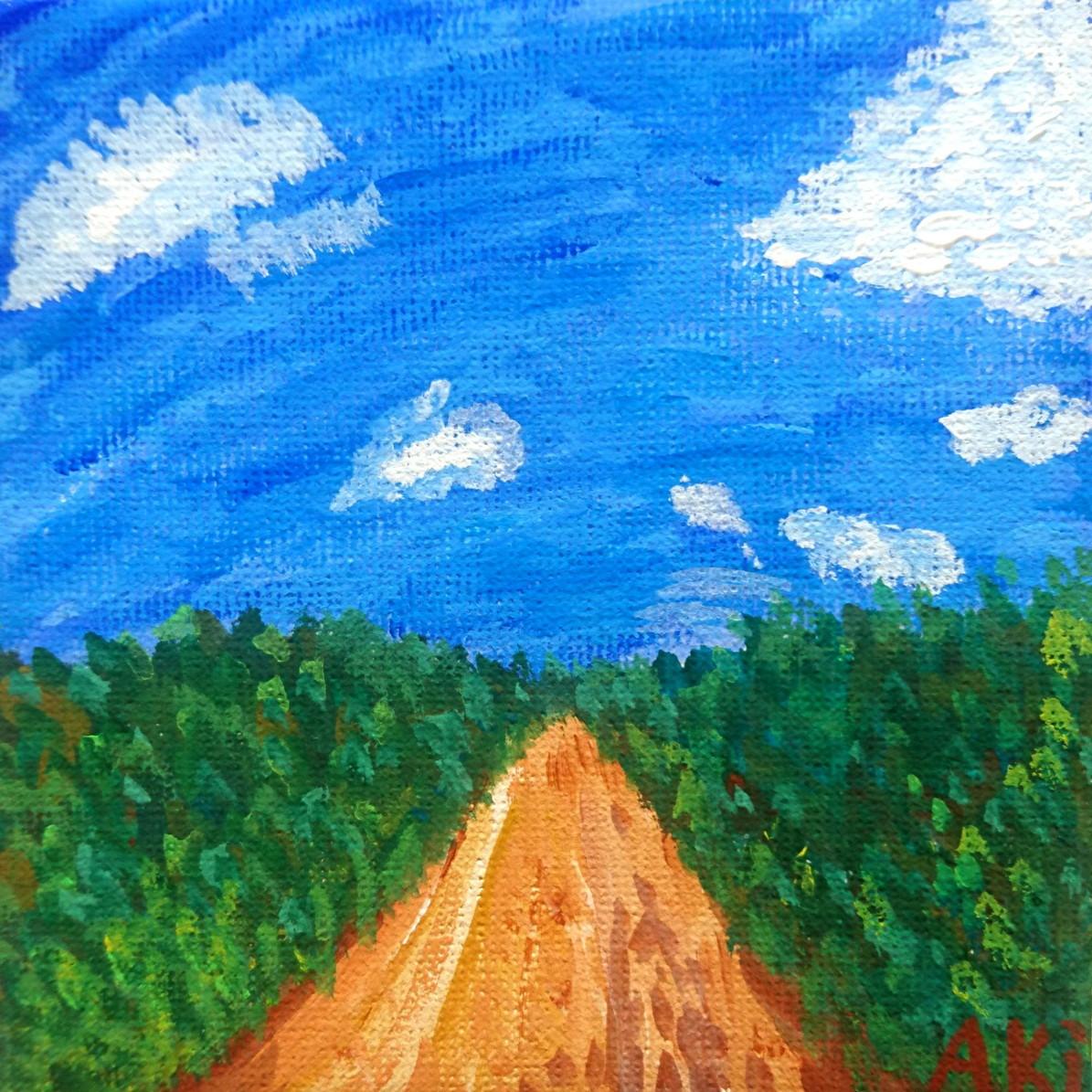 絵画 インテリア アートパネル 雑貨 壁掛け 置物 おしゃれ 抽象画 ロココロ 画家 : ごま 作品 : 久高島