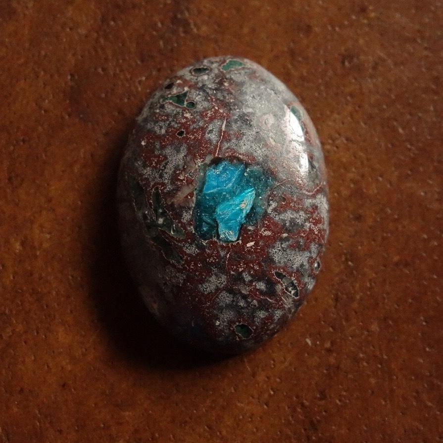 母岩付きカバンサイト 天然石ルース