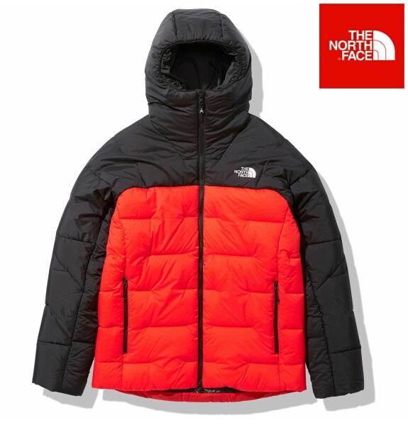 ノースフェイス ダウン 中綿 ジャケット ライモジャケット THE NORTH FACE RIMO Jacket NY82005 フレアオレンジ