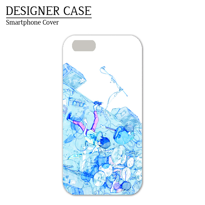 iPhone6 case [band]  Illustrator:Kawano