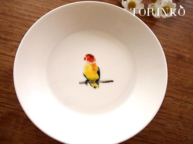 ボタンインコ お皿 中サイズ(鳥・オウム・インコ)