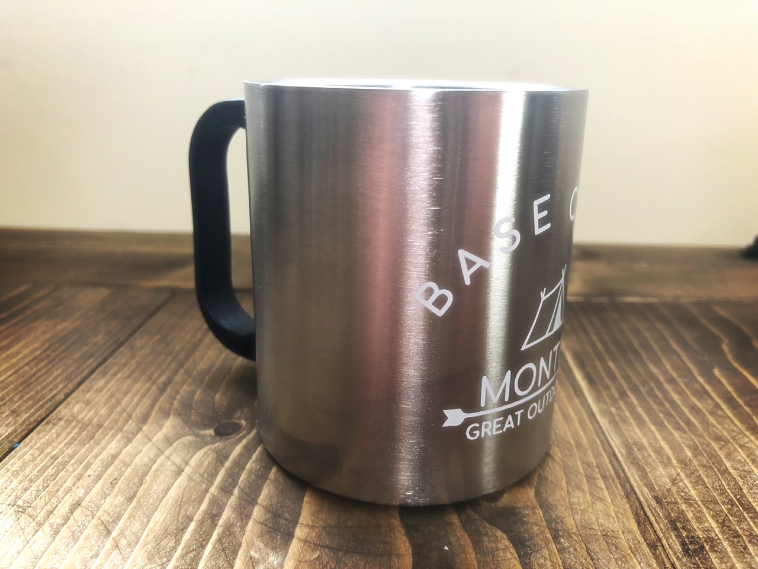 BASE CAMP Stainless Mug