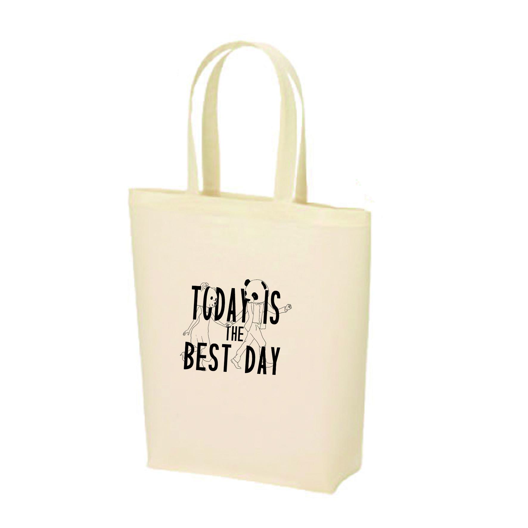 トートバックToday is best day1枚(ご自宅用)