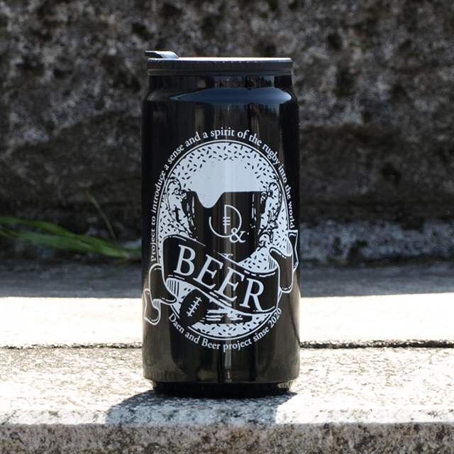 体質や年齢、趣味趣向の区別なく健闘を讃えあえるビール缶デザインタンブラー