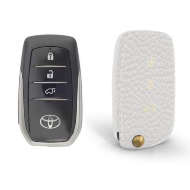 Toyota 専用 TypeC-2 Car Key Case Shrink Leather Case
