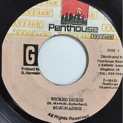 Buju Banton(ブジュバントン) , Nadine Sutherland(ナディーンサザーランド) - Wicked Dickie【7'】