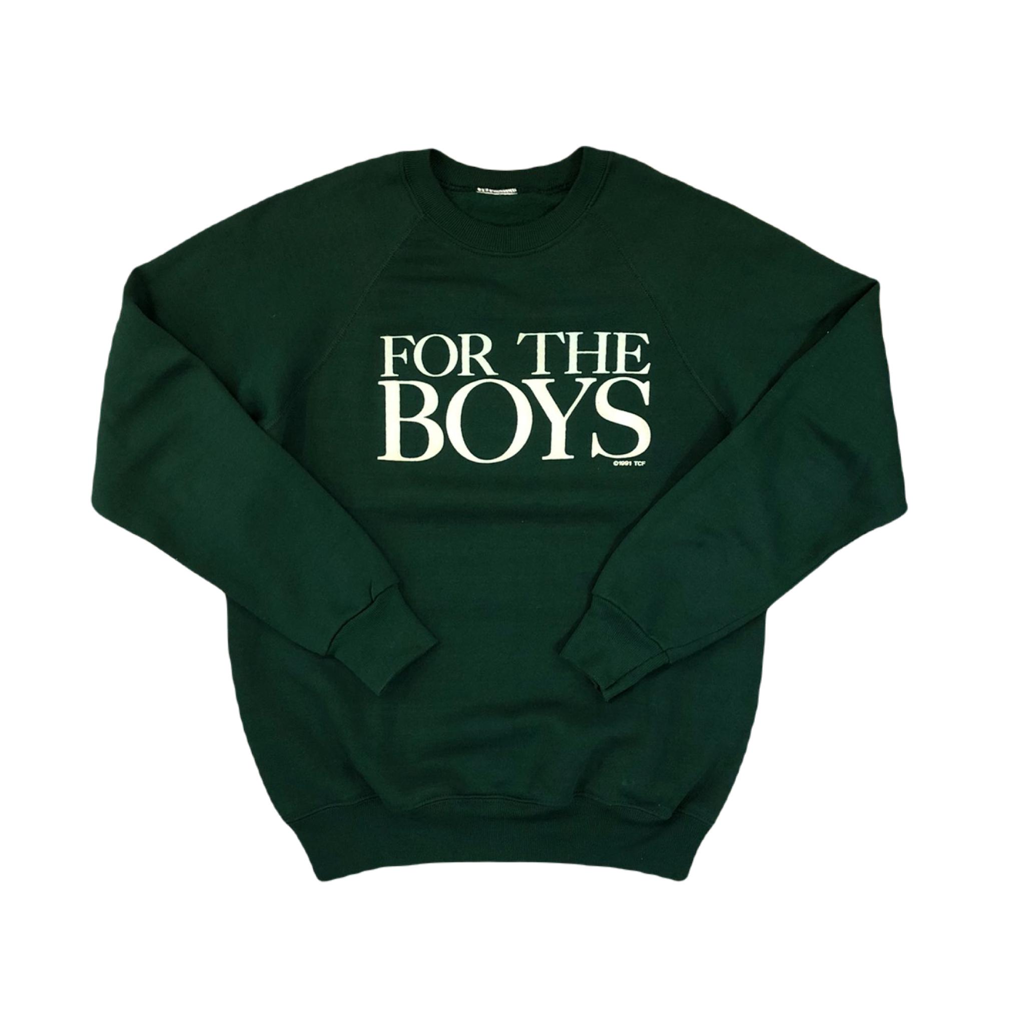 For The Boys Raglan Sweatshirt ¥5,200+tax