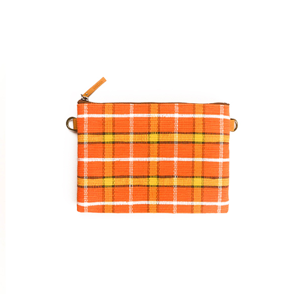 Flat Pouch / Orange ×Yellow : 2110100100406